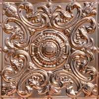 Al Fresco - Copper Ceiling Tile - 24x24 - 2414