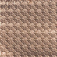 Armor - Copper Ceiling Tile -24x24 - 0302