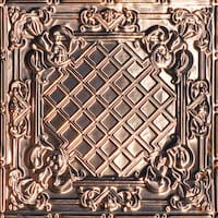 CASA MILANO - COPPER CEILING TILE - 24X24 - 2412