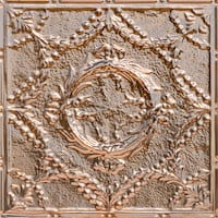Caesar's Wreath - Copper Ceiling Tile - 24x24 - 2416