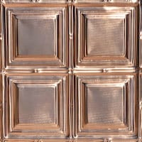 Constitution Square - Copper Ceiling Tile - 1221