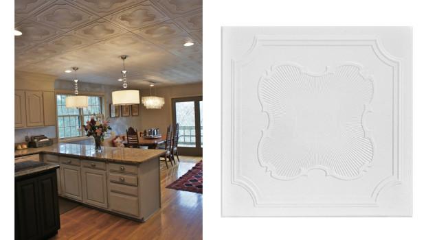 Popcorn Ceiling Solutions - Styrofoam Ceiling Tiles