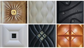 Faux Leather Wall Panels In Residential Commercial Settings