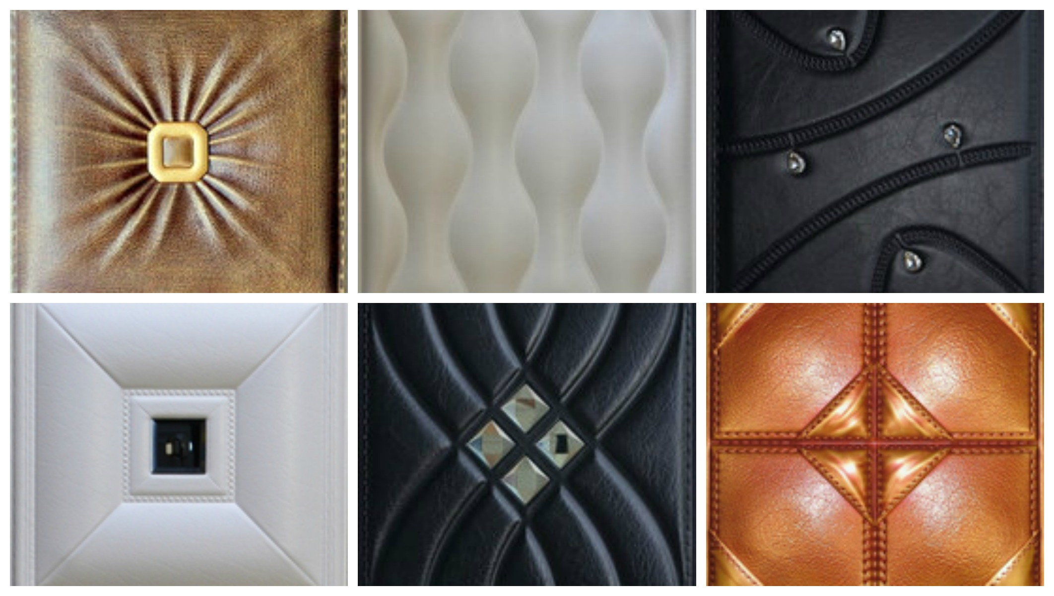 Faux Leather Wall Panels In Residential Commercial Settings Ceilingdecorating