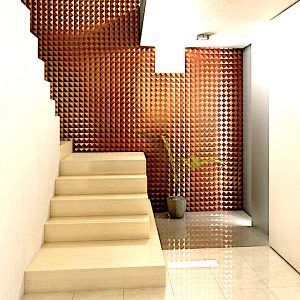Copper Wall Panels (Falling for Copper Ceiling Tiles)
